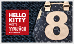 HELLO KITTY meets muta DENIM 8 Bag